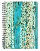Turquoise Chained Spiral Notebook