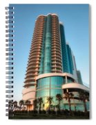 Turquoise Place Rising Spiral Notebook