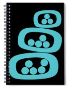 Turquoise Pods Spiral Notebook