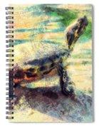 Turtle Brave Spiral Notebook
