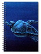 Turtle In The Red Sea Spiral Notebook