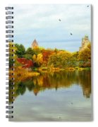 Turtle Pond 2 - Central Park - Nyc Spiral Notebook