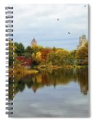 Turtle Pond - Central Park - Nyc Spiral Notebook