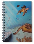 Turtles At Sea Spiral Notebook