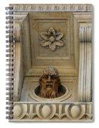 Tuscan Architectural Details Spiral Notebook