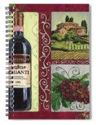 Tuscan Collage 1 Spiral Notebook