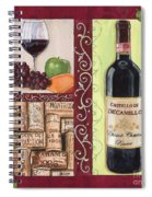 Tuscan Collage 2 Spiral Notebook