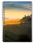 Tuscan Dawn Spiral Notebook