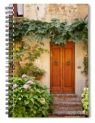 Tuscan Door Spiral Notebook