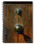Tuscan Doorknob Spiral Notebook