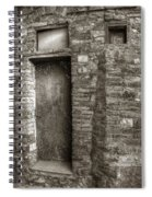 Tuscan Doorway Spiral Notebook