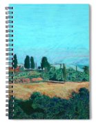 Tuscan Farm Spiral Notebook