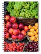 Tuscan Fruit Spiral Notebook