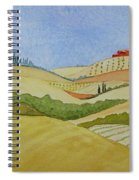 Tuscan Hillside Two Spiral Notebook
