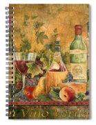 Tuscan In Vino Veritas Spiral Notebook