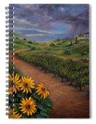 Tuscan Landscape Spiral Notebook