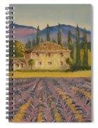 Tuscan Lavender Spiral Notebook