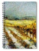 Tuscan Vineyard Spiral Notebook