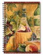 Tuscan Wine-c Spiral Notebook