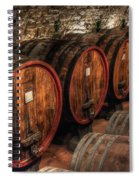 Tuscan Wine Cellar Spiral Notebook