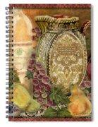 Tuscan Wine-d Spiral Notebook