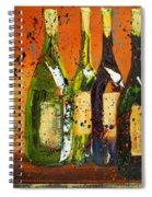 Tuscan Wine Spiral Notebook