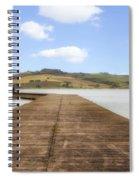 Tuscany - Lago Di Chiusi Spiral Notebook