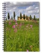 Tuscany - Pienza Spiral Notebook