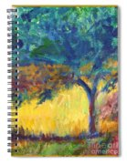Tuscany Hill Side Shadows Spiral Notebook