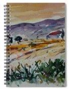 Tuscany Landscape 1 Spiral Notebook