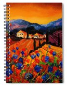 Tuscany Poppies Spiral Notebook