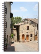 Tuscany Street Spiral Notebook