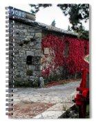 Tuscany Vineyard  Spiral Notebook