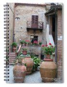 Tuscany Yard Spiral Notebook
