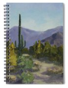 The Serene Desert Spiral Notebook