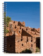 Tuzigoot Native American Ruins Arizona 1 Spiral Notebook