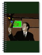 Tv Movie Hour Jake Crellin Kvoa Tv 1962 Sepia Toned Color Drawing Added 2009 Spiral Notebook