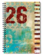 Twenty-six Stripes Spiral Notebook