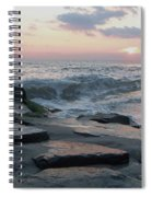 Twilight At Cape May In October Spiral Notebook