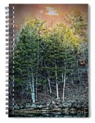 Twilight At Dogwood Canyon Spiral Notebook