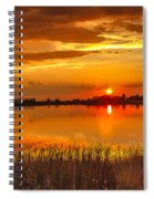 Twilight At The Best Spiral Notebook