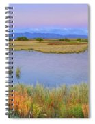 Twilight At Whitewater Draw Spiral Notebook