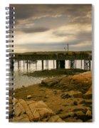 Twilight Cape Porpoise Maine Spiral Notebook