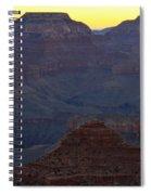 Twilight Mather Point  Spiral Notebook