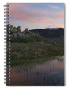 Twilight, Mono Lake, California Spiral Notebook