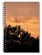 Italian Landscape - Twilight Of The Gods 2 Spiral Notebook