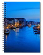 Twilight On The Grand Canal Spiral Notebook