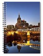 Twilight Over Nashville Tennessee Spiral Notebook