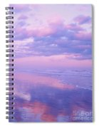 Twilight Reflection Cape May Spiral Notebook