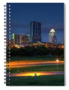 Twilight Skyline Spiral Notebook